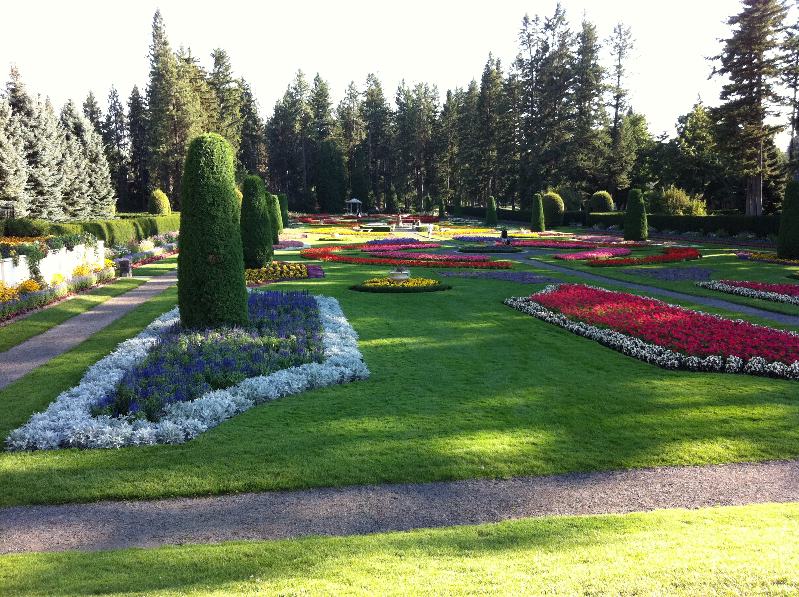Manito Park In Spokane A Great Surprise Yesterday Sweetempranillo