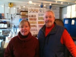 Heidi and Jeff Soehren of Blue Spirits Distillery and Blue Spirits Coffee Roasting