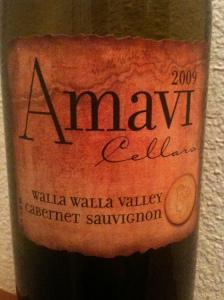 Amavi Cellars 2009 Cabernet Sauvignon