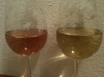 color comparison of traditional color vs pink from Rockwall Cellars.