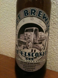 Port Brewing Old Viscosity Ale: Imperial Stout 10% ABV