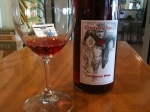 Cranberry Wine with the Crimson Glory label from Pasek Cellars