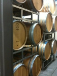 Warm storage for the wines we made this year.  They were topped off - January we will check and probably rack them next.