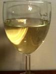 A sunny, pale yellow Gruner Veltliner.