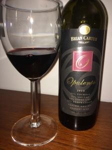 Brian Carter Cellars 2010 Opulento dessert wine.