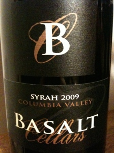 Basalt Cellars 2009 Syrah