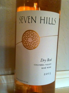 Seven Hills Winery 2013 Dry Rose'