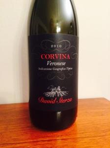 Corvina Veronese varietal wine - 2010 David Sterza