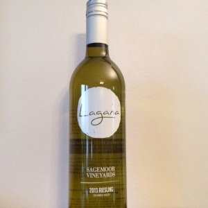 2013 Sagemoor Vineyards Riesling from Lagana Cellars in Walla Walla.
