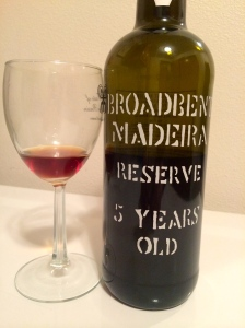 Sweet Madeira from tint negra mole grapes