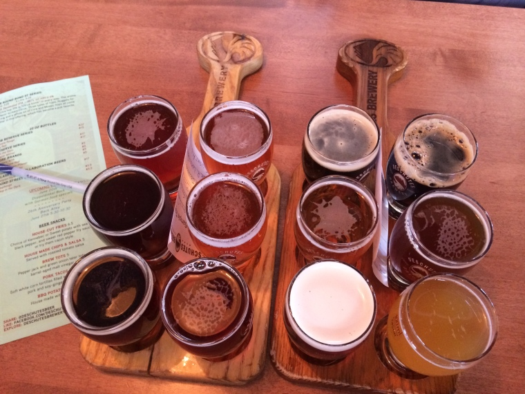 Twelve Bend, OR Public House Brews to tickle our palate!