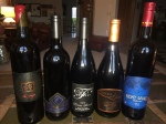 We had to have a few other reds that were terrific - including a Lodi Zin.