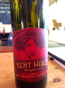 Remy Wines, also has 'Three Wives' label, small production winery in McMinnville, Oregon.