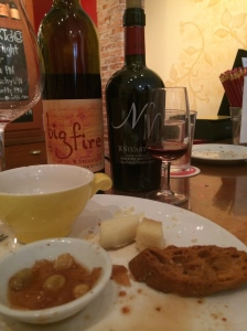 R. Stuart & Co. in McMinnville, OR has delectable tidbits and plates to nourish you while you enjoy their wines.