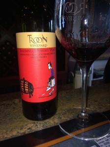 Troon Vineyard, their 'Insomnia Dessert Wine' - but Vermentino is their best known wine.