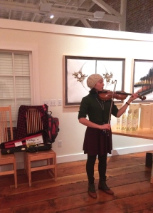 Music and visual art are exciting elements of some winery tasting rooms during Fall Release weekend.