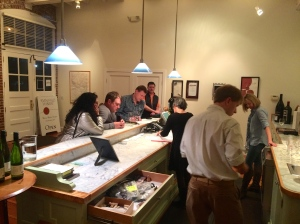 Half-past closing and we still had several people tasting wines Saturday night of Fall Release.