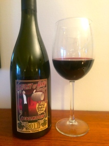 Sleight of Hand Cellars 2011 Levitation, Columbia Valley Syrah.