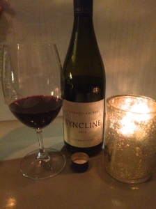 Syncline Wine Cellars 2012 Subduction Red Wine; geology and wine are a great combination.
