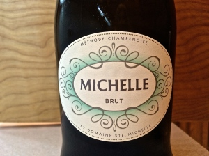 Domaine Ste. Michelle Brut Sparkling Wine - a Washington sparkling wine from a very large wine maker.