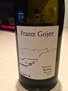 2012 Franz Gojer Kerner Karneid.