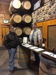 Philip Mackey & my favorite wine taster and my partner in wine.