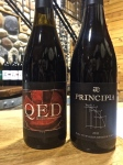 The original Rasa wines, QED and Principia.