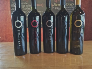 Fidelitas Wines, one white blend and four reds, one a blend, of Red Mountain grapes.