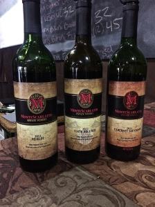 Joel Mackey's dream, Monte Scarlatto Red Mountain wines.