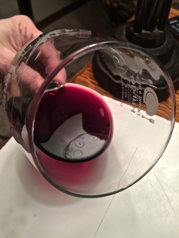 2013 Cockburn Ranch Syrah, affectionately named COSY