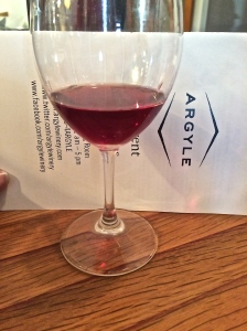 Argyle Winery 2012 Nuthouse Pinot Noir, named for the previous function, as a Filbert drying facility, of the Argyle production facility.