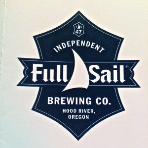 Full Sail Brewing Co., Hood River, OR has views of the Columbia right outside the Pub.