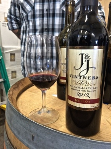 J&J Vintner's 2012 Estate Merlot & Cabernet Sauvignon come from the small vineyard I did much of my practicum work in Spring of 2014.