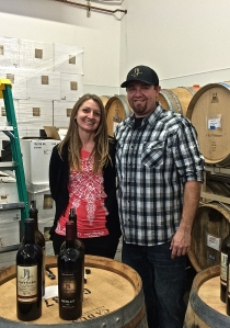 With the change in J&J winemaking facilities behind them, Jeremy & Erin are now focusing on wedding plans!  Congratulations you two!