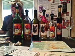 Ellensburg Canyon Winery, Ellensburg, WA is Gary Cox's pride and joy; his retirement.