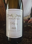 Thrall & Dodge Winery original label 2005-2009.