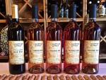 Camas Prairie Winery mead varieties, Moscow, Idaho.