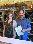 Jeremy and Heidi Ritter, owners of Camas Prairie Winery in Moscow, Idaho.