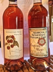 Two special labels on Camas Prairie Winery's Raspberry Mead for fundraising purposes it is so popular.
