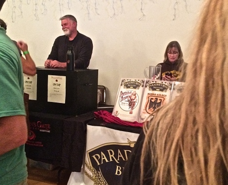 Dragon's Gate Brewery in Milton Freewater, Oregon and Paradise Creek Brewery from Pullman participated in the Waitsburg Celebration.