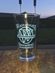 Brewfest commemorative glass from the Waitsburg's Sesquicentennial Celebration.