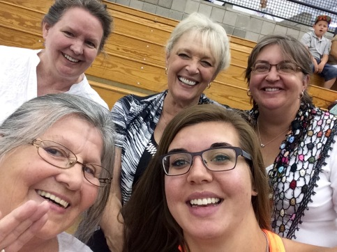 Some of my Ephrata friends at Commencement on Saturday.