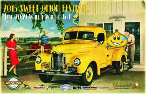Walla Walla Sweet Onion Festival 2015 poster from their webpage