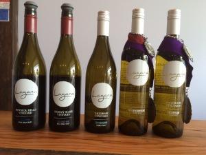Lagana Cellars 2013 and 2014  wines.
