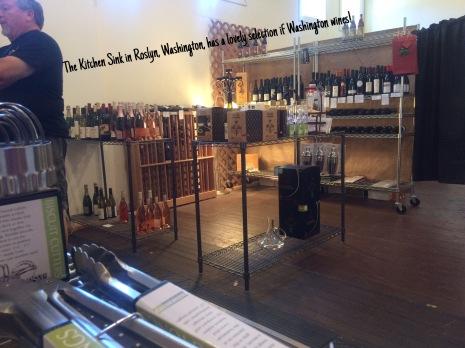 Kitchen Sink store's wine inventory.