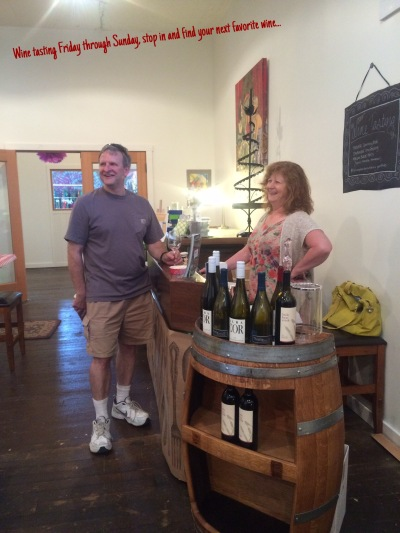 Wine tasting each weekend at Kitchen Sink, Roslyn WA.