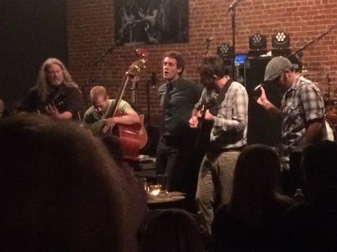 Carbon Leaf performing at Mainstreet Studios in Walla Walla, September 21 2015.