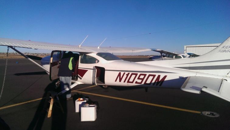 Cessna 182 Bergstrom, Pasco, WA.