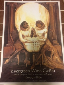 Poster for Evergreen Wine Cellar.