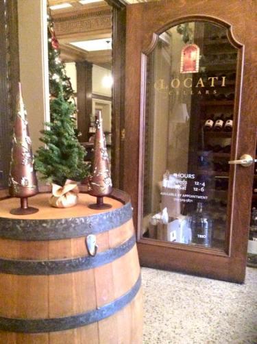 Holiday Barrel Tasting at Locati Cellars is underway!